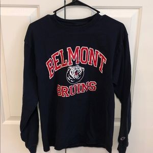 Belmont University long sleeve shirt